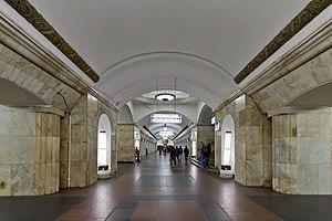 庫爾斯克站 (莫斯科地鐵環狀線) - 維基百科,自由的百科全書