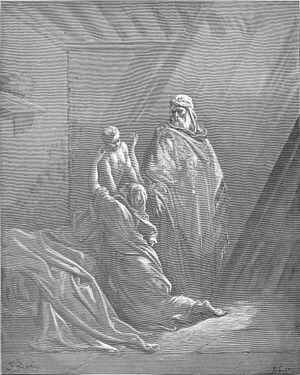 English: Elijah Raises the Son of the Widow of...