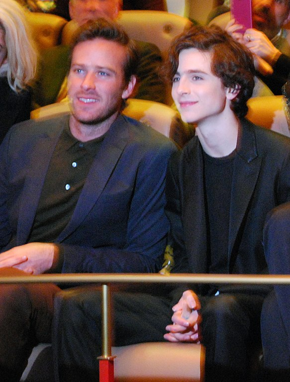 Call Me By Your Name Vo : File:Armie, Hammer, Timothee, Chalamet, Screening, Name,, Berlin, International, Festival.jpg, Wikimedia, Commons