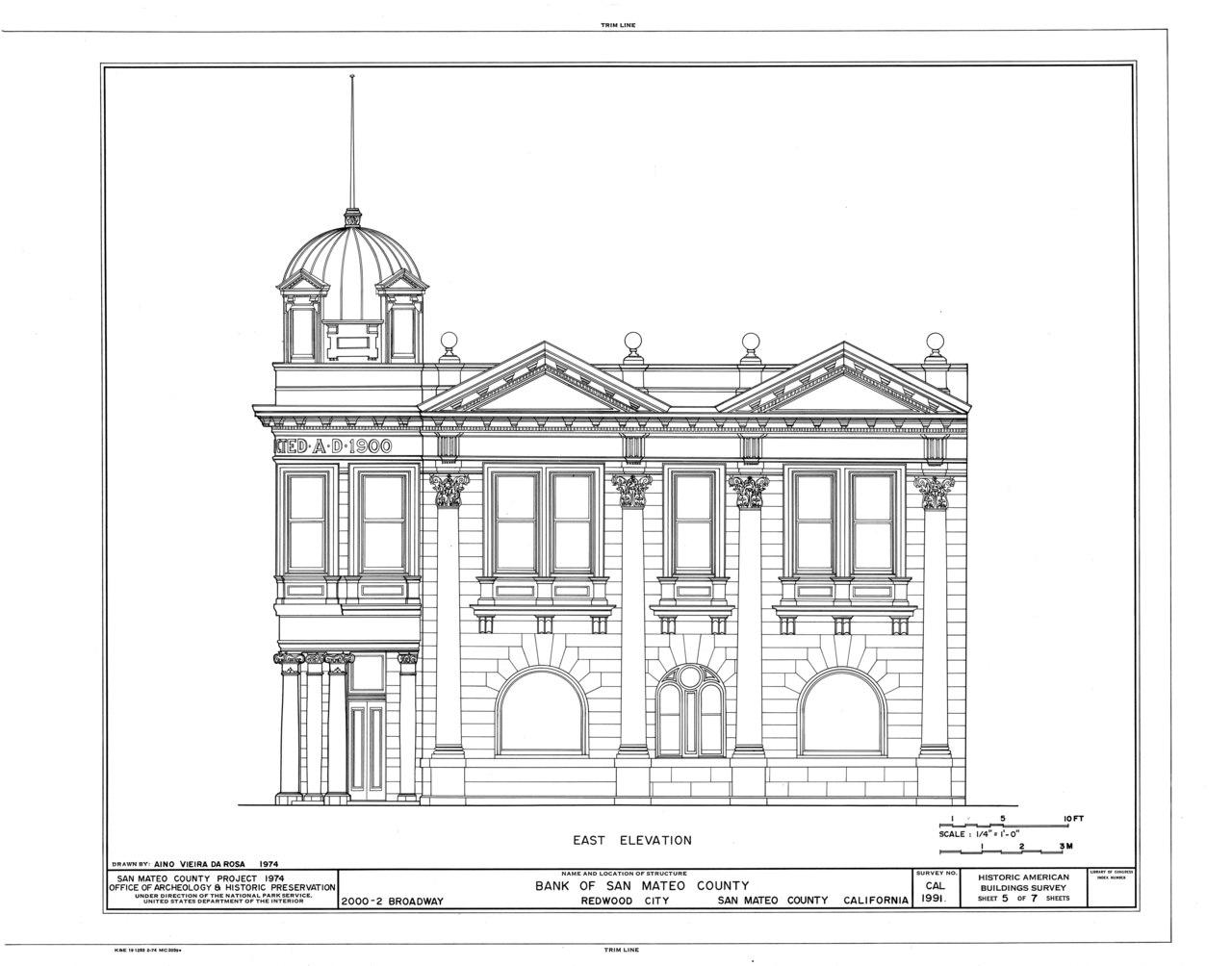 File Bank Of San Mateo County Broadway Redwood