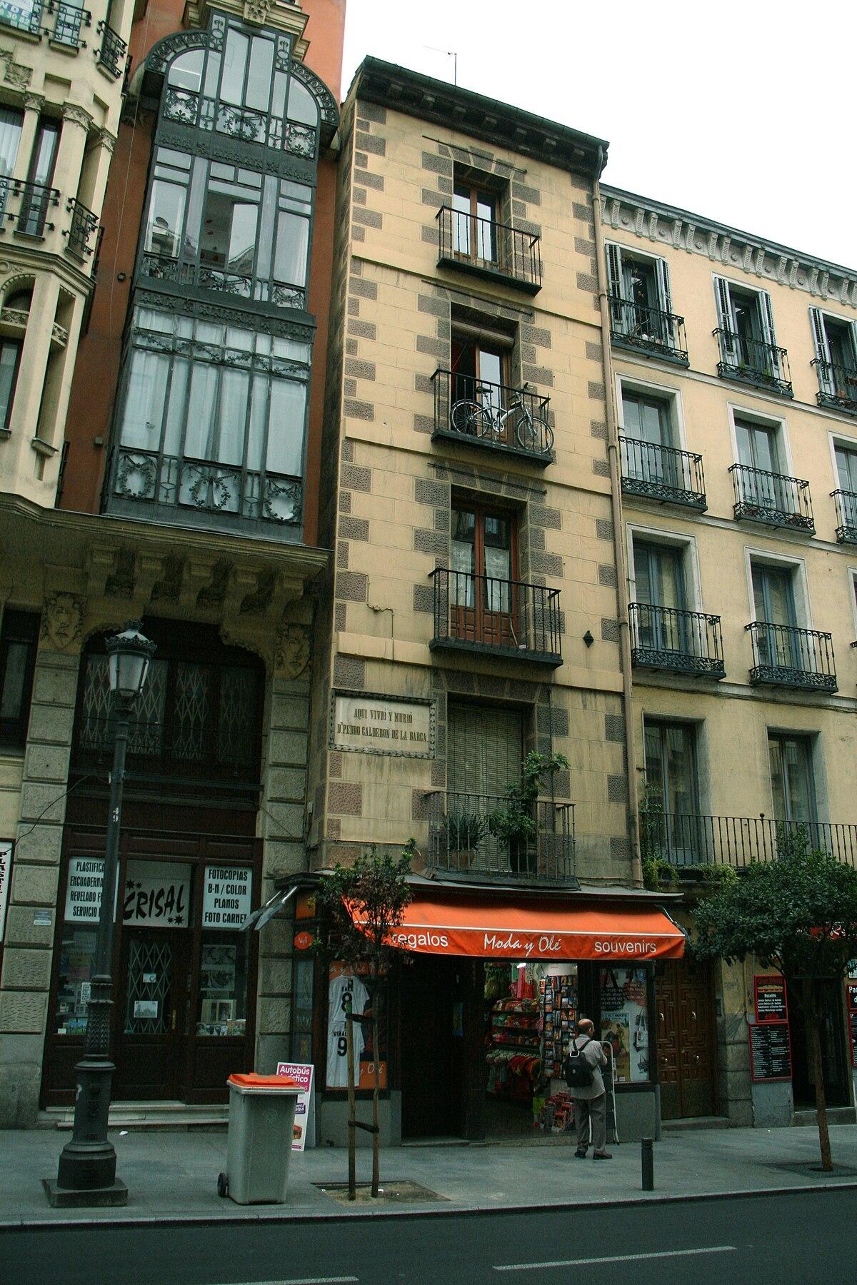 Casa de Caldern de la Barca  Wikipedia la enciclopedia libre