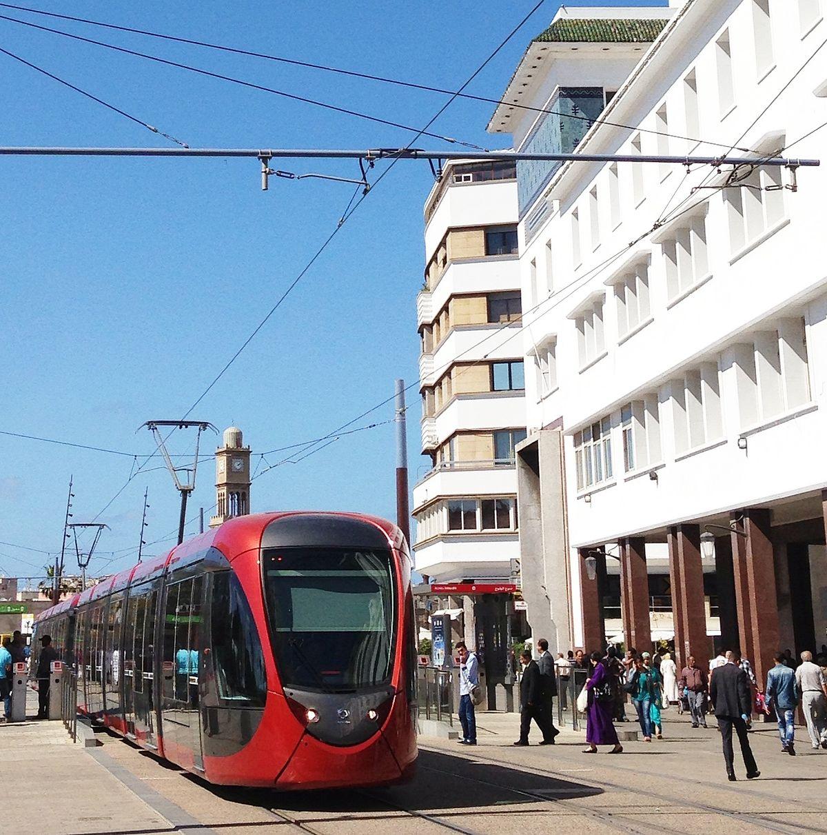 Casablanca Tramway  Wikipedia