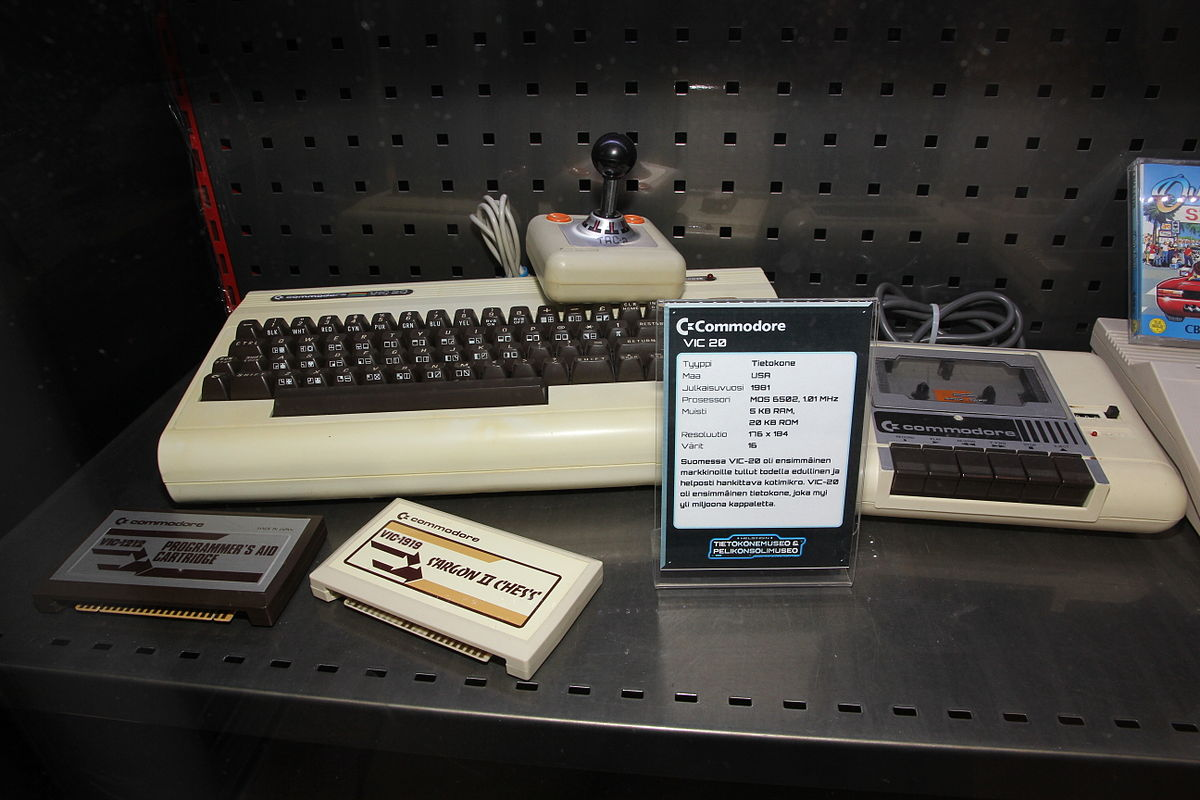 Commodore VIC-20 - Simple English Wikipedia. the free encyclopedia