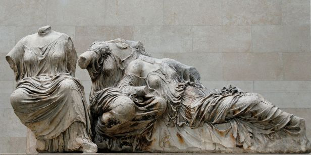 East pediment KLM Parthenon BM