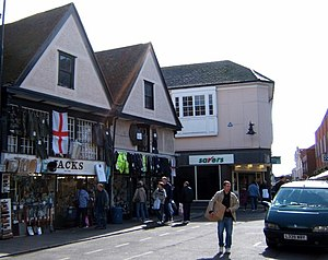English: Jacks Stores, Colchester. This is Jac...