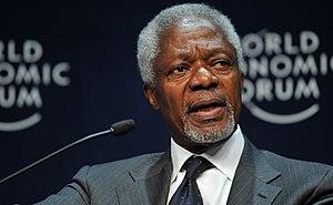 CAPE TOWN/SOUTH AFRICA, 10JUN2009 - Kofi Anann...