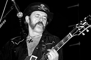 Lemmy Kilmister aka Liam Murphy in Mexico City
