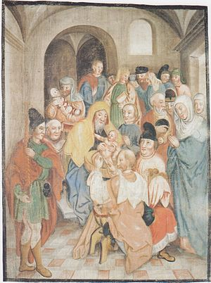 Lenten-canvas of Millstatt - Circumcision of Jesus