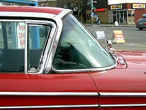 A panoramic windshield on a 1959 Edsel Corsair...