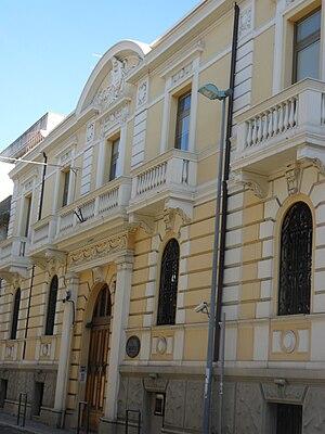 Italiano: Particolare palazzo Monte dei Paschi...