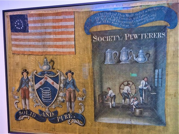 Pewterers' Banner 1788 - www.joyofmuseums.com - New-York Historical Society
