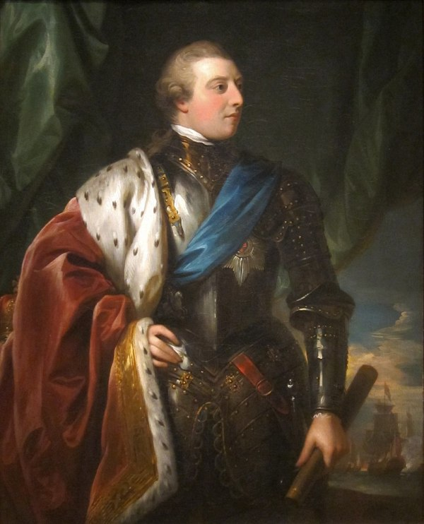 Benjamin West King George III