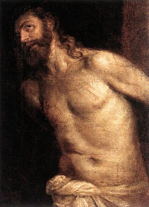 Titian - The Scourging of Christ - WGA22826