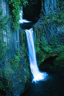 Multnomah Falls Oregon Winter Wallpaper Toketee Falls Wikipedia