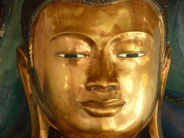 005 Brass Buddha, Shwezigon, Bagan