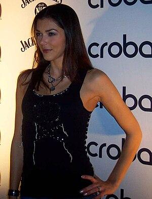 Adrianne Curry at Crobar Nightclub Chicago