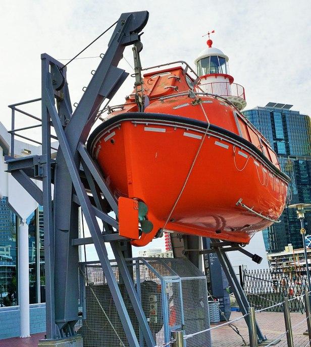 Australian National Maritime Museum - Joy of Museums - Harding MCH Lifeboat