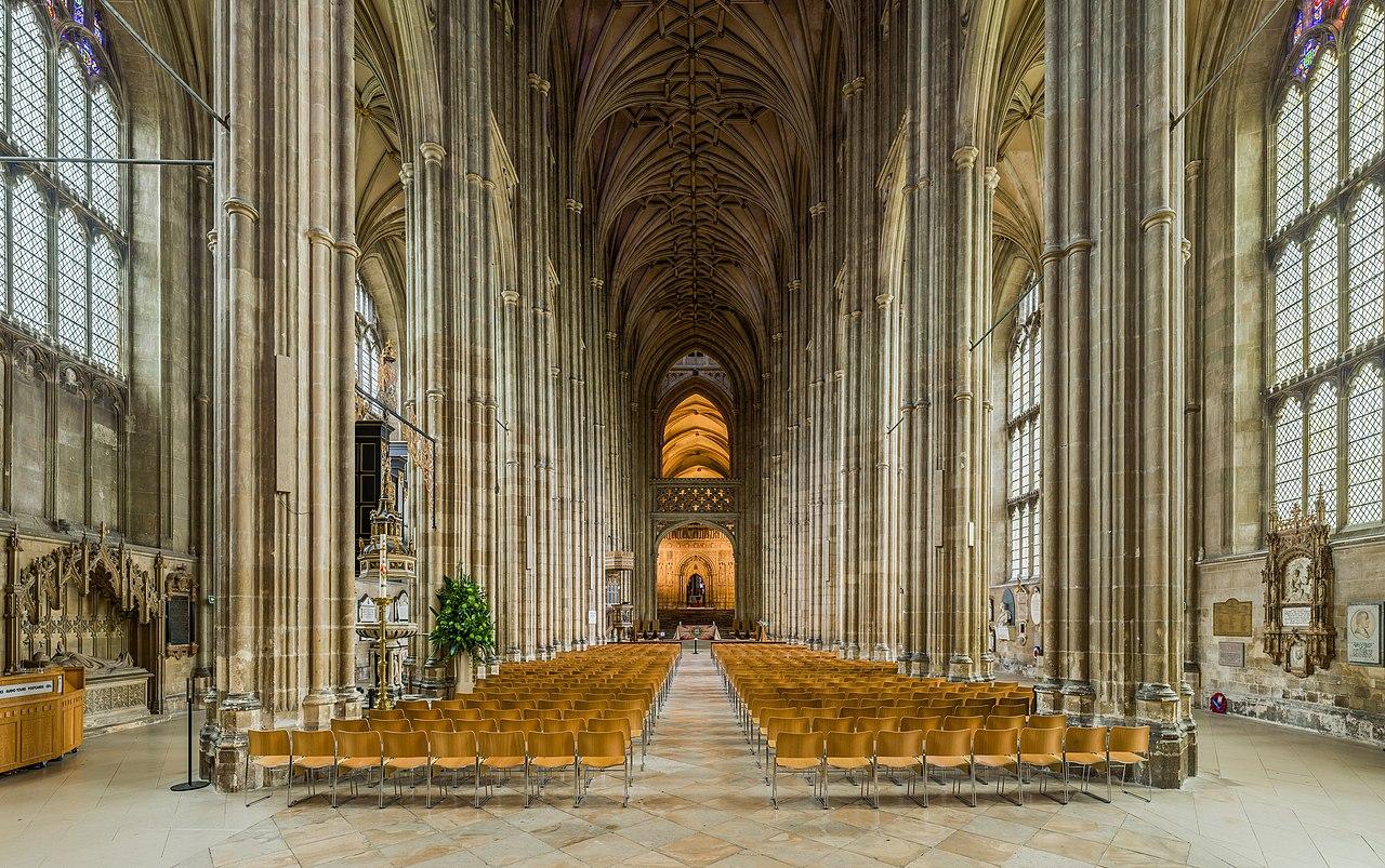File Canterbury Cathedral Nave 2 Kent Uk Diliff Jpg