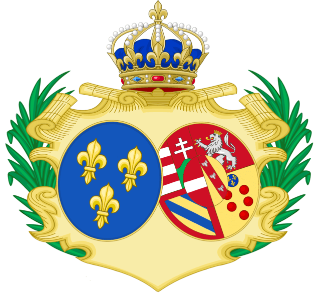 File:CoA of Marie-Antoinette of Austria.png