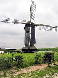 Doesburger windmill, Ede, The Netherlands.
