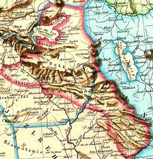 Deutsch: Asie Mineure. Turquie d'Asie, Syrie, ...