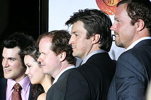 Sean Maher, Summer Glau, Joss Whedon, Nathan F...
