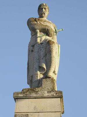 Español: Estatua de Guzmán el Bueno de Tarifa