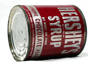 Hershey's Syrup, circa 1950s