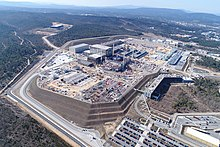 Aerial View Of The Iter Site In 2018