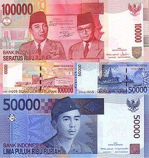 Rupiah Indonesia  Wikipedia Bahasa Melayu ensiklopedia bebas
