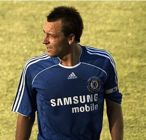 English: John Terry in action for Chelsea FC