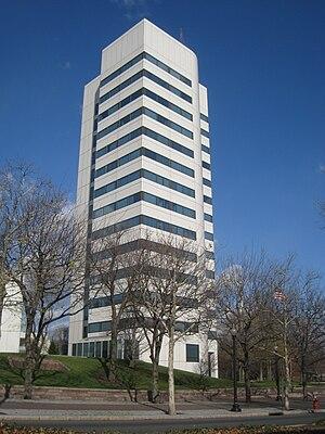Headquarters of the Johnson & Johnson Company,...