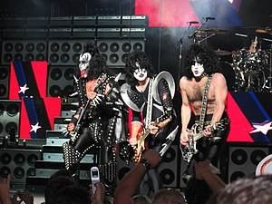 KISS in concert in Boston, 2004