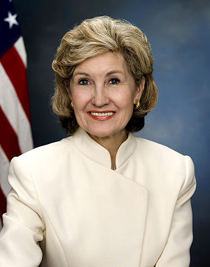 Senator Kay Bailey Hutchison of Texas