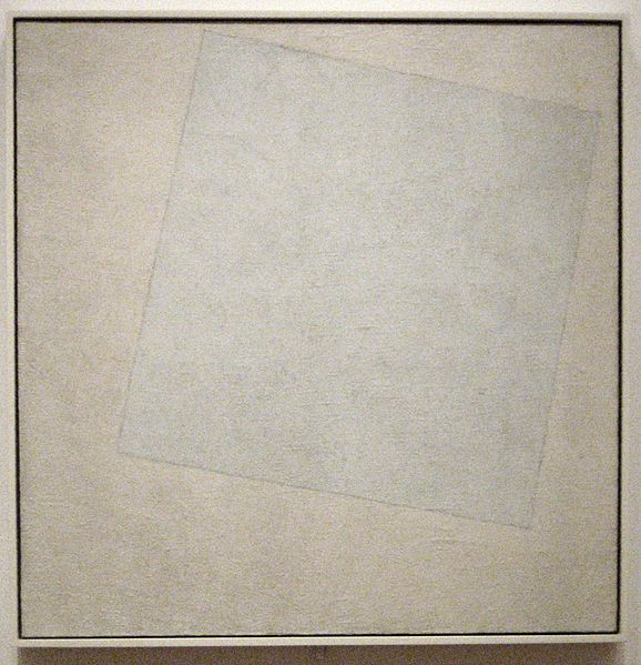 File:Kazimir Malevich - 'Suprematist Composition- White on White', oil on canvas, 1918, Museum of Modern Art.jpg