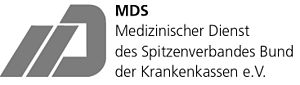 Logo Medizinischer Dienst des Spitzenverbandes...