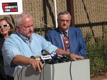 English: Maricopa County Sheriff Joe Arpaio, s...