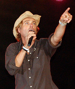 Michael W. Smith during a concert in Bloomsbur...