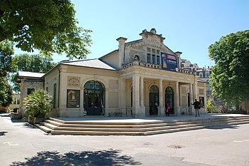 Pavillon du Musée Fabre, Montpellier, Languedo...