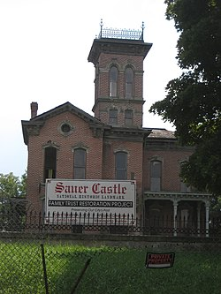 Sauer Castle in Kansas City, Kansas