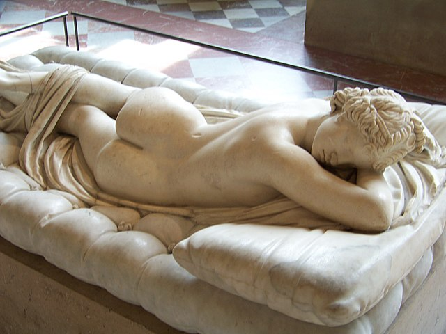 FileSleeping Hermaphroditus 1 Louvre May 2010jpg