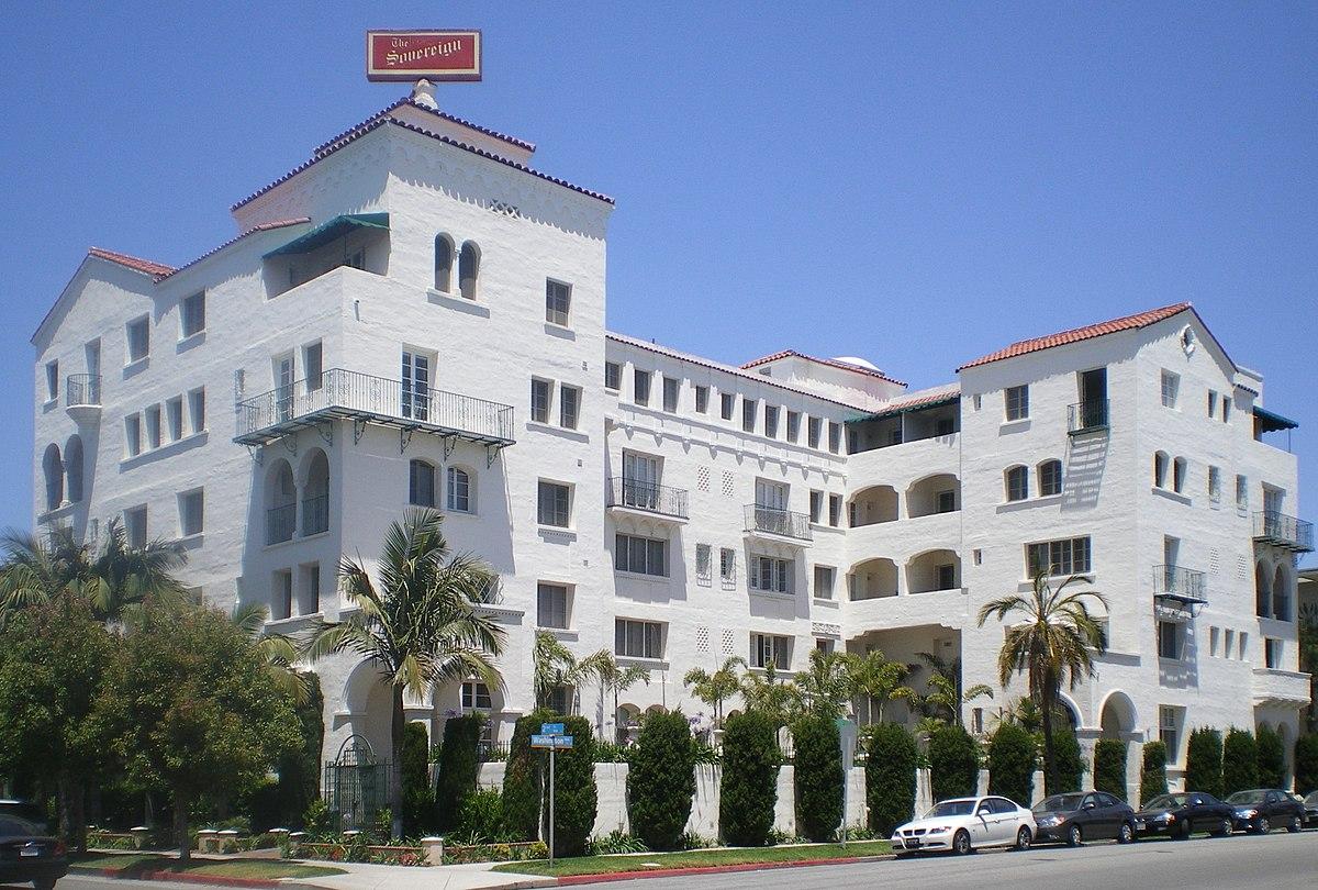 Sovereign Hotel California Wikipedia