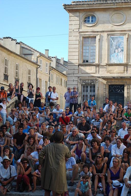 Spectacle de rue Avignon festival 2009