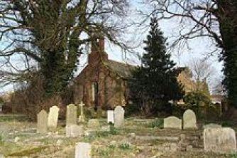Η εκκλησία της Αγ. Μαργαρίτας στο Κέντιγκτον, όπου βρίσκεται ο τάφος του Κάλβου