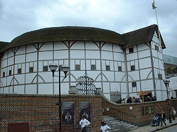 English: The Globe Theatre. The Globe Theatre,...
