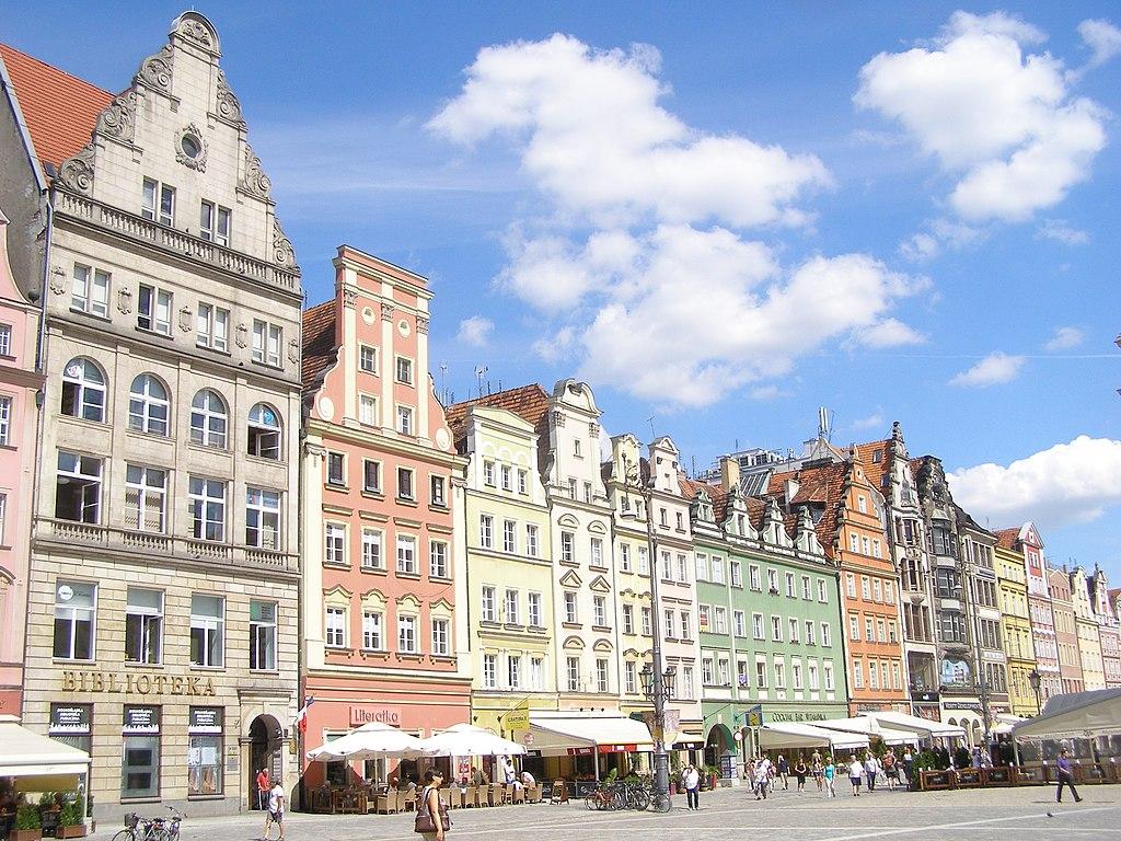 Wroclaw Rynek kamienice 1