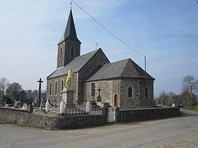 Eglise la Chapelle Urée GR22
