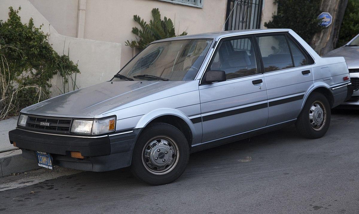 1986 Corolla Manual