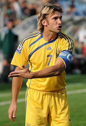 English: Andriy Shevchenko