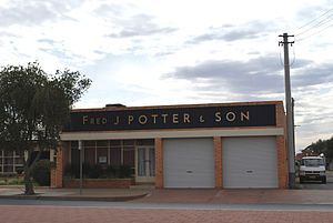 Fred J Potter and Son, a funeral director in B...
